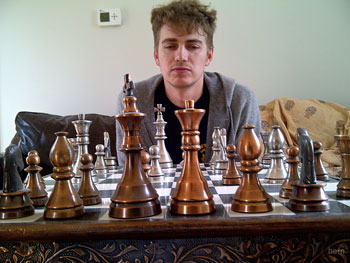 Hayden Christensen chess match 6 months ago.