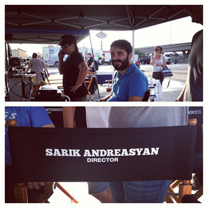 Hayden Christensen will be on the set with director Sarik Andreasyan to film American Heist.