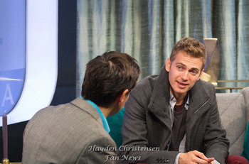 Hayden Christensen visits ET Canada during TIFF 2014 before the premiere of American Heist.