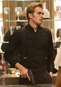 Hayden Christensen stars in the upcoming American Heist.