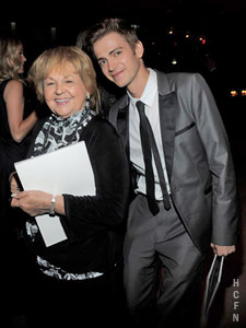 Hayden Christensen and his grandmother were guests at the annual 2010 CFDA Fashion Awards at Lincoln Center.