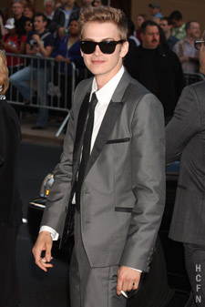 Hayden Christensen all dressed up for the 2010 CFDA Fashion Awards in New York.