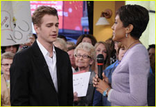 Hayden Christensen talks about the premiere of The Lazarus Effect on Good Morning America