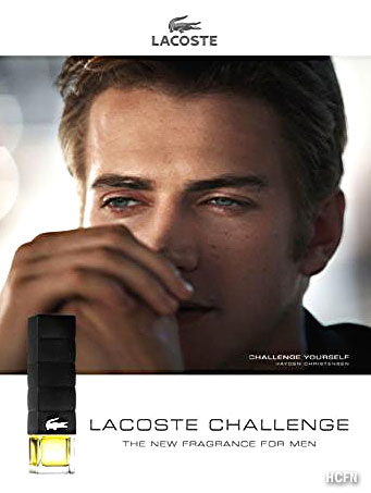 Hayden Christensen visits Brazil for Lacoste