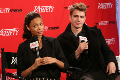 Hayden Christensen and Thandie Newton answer questions about Vanishing on 7th Street.