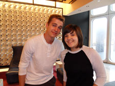 Hayden Christensen and Ariel on August 10, 2010.
