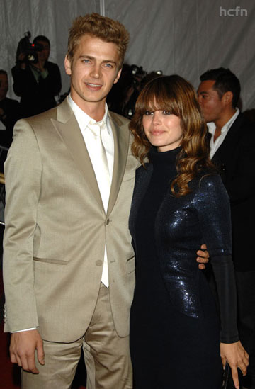 Hayden Christensen and Rachel Bilson at May 2008 Met Gala