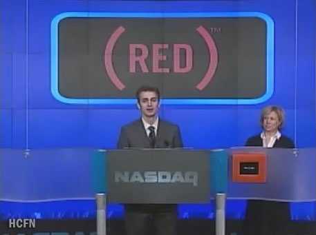 Hayden Christensen talks about RED's Lazarus Campaign at the NASDAQ Opening
