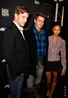 Hayden Christensen and Tove Christensen host a night at Ultra for TIFF pictured with guest Thandie Newton.