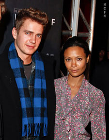 Hayden Christensen and Thandie Newton at Ultra for TIFF 2010.