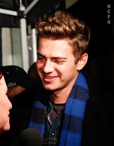 Hayden Christensen at Ultra for TIFF 2010.