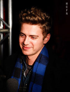 Hayden Christensen celebrates in honor of the 2010 Toronto Film Festival.