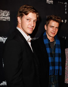 Hayden Christensen and Tove Christensen at Ultra for TIFF 2010.