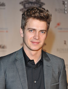 Hayden Christensen at Rally for Kids Official Qualifiers Draft Party.