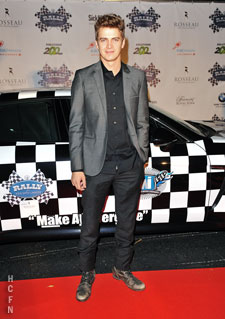 Hayden Christensen at Rally for Kids exclusive Draft Cocktail Party.