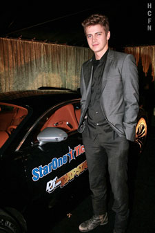Hayden Christensen hosting at Rally for Kids Cocktail Party.