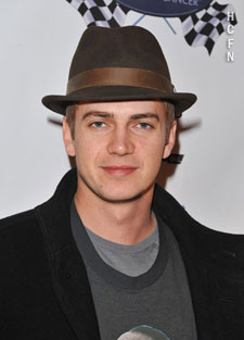 Hayden Christensen at Rally for Kids after party gala.