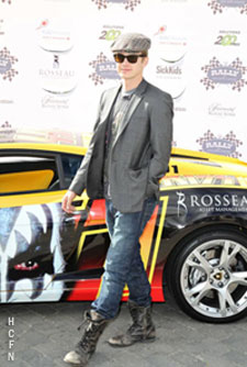 Hayden Christensen at Rally for Kids in downtown Toronto at Start Your Engines Brunch.