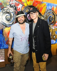 Hayden Christensen and Domingo Zapata attend Life is a Dream Exhibit