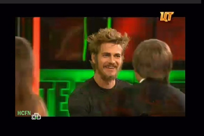 Hayden Christensen on the air NTV Moscow talks about the new Disney Star Wars November 12, 2012.