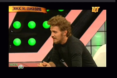 Hayden Christensen on the air Central TV Moscow speaking about Darth Vader, Disney and more November 12, 2012.