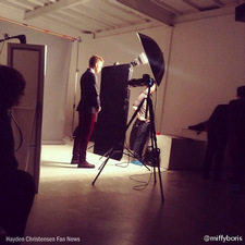 Hayden Christensen behind the scenes, April issue of Madame Figaro China 2014.