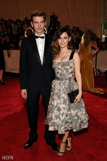 Hayden Christensen and Rachel Bilson Met Institute Costume Gala