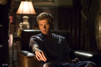 Hayden Christensen is a man caught between life and death in Awake.