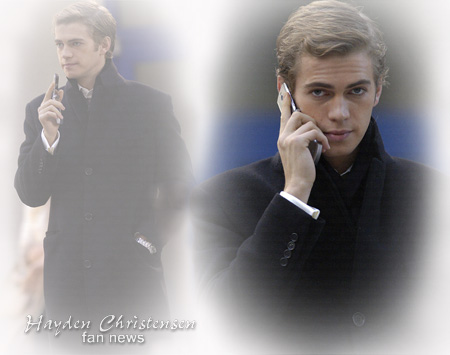 Hayden Christensen in The Diplomat filming Romania and the UK.