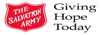 The Salvation Army for Hurricane Sandy storm relief.