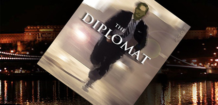 Hayden Christensen in The Diplomat, an international thriller.
