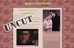 Hayden Christensen in Factory Girl Uncut