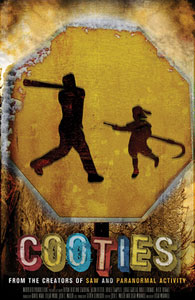 Cooties production by Elijah Woods, Glacier Films' Tove Christensen, Georgy Malkov producers with Glacier's Sarik and Gevond Andreasyan and Hayden Christensen executive producers.