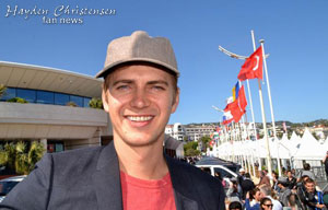 Cannes - Hayden Christensen to add producer's duties with new film company Glacier Films.