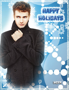 Merry Christmas and Seasons Greetings to all Hayden Christensen fans around the world.
