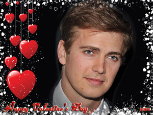 Happy Valentine's Day from Hayden Christensen Fan News.