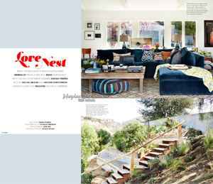 Lonny Magazine's Marriage of Styles: Hayden Christensen and Rachel Bilson style a new home together.