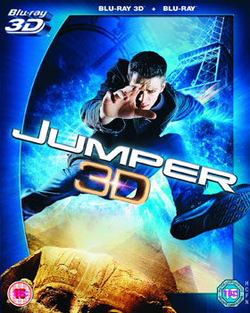 Jumper starring Hayden Christensen to be released in Blu-Ray 3D August 5th in the UK.
