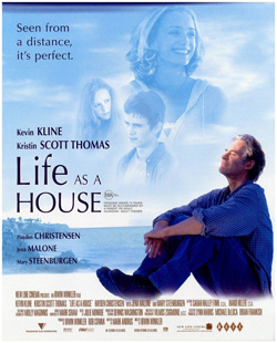 Hayden Christensen, Life as a House poster.