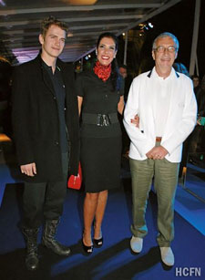 Hayden Christensen attends reception for Lacoste in Rio