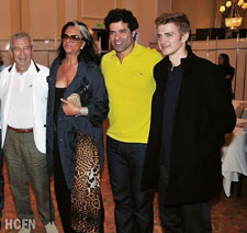 Hayden Christensen attends Lacoste reception on first visit to Rio de Janeiro, Brazil