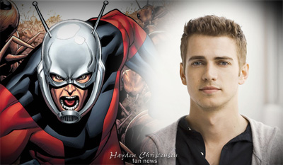 Hayden Christensen could be Ant-man.