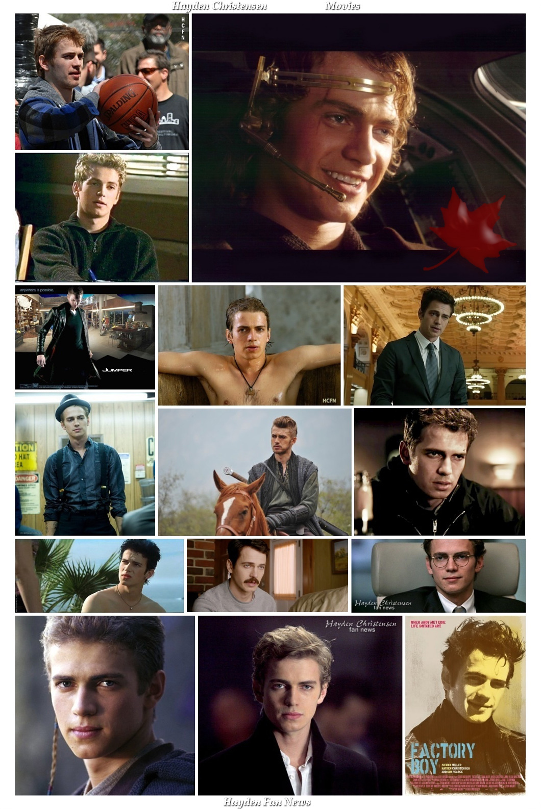 Hayden Christensen Fan News 10th Anniversary October 18, 2016.