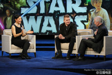 Hayden Christensen China CCTV6 interview for Star Wars special.