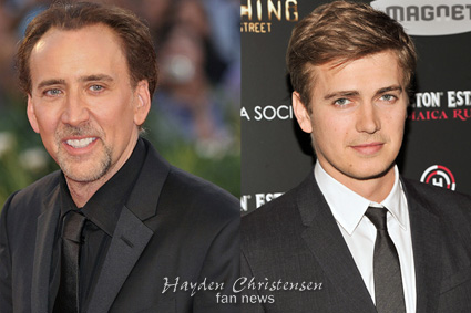 Hayden Christensen and Nic Cage to star in Arclight and China Co-Production Outcast.