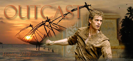 Hayden Christensen to star in the upcoming movie Outcast from Arclight and Easternlight Films.