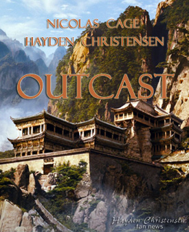 Hayden Christensen and Nicolas Cage star in Outcast. Outcast makes Filmart sales debut.