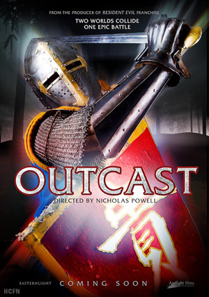 Hayden Christensen is a knight in shining armor rescuing a Chinese princess and her young brother in Outcast.