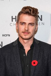 Hayden Christensen for RW&CO launches October 30, 2013 at Eaton Centre, Toronto.