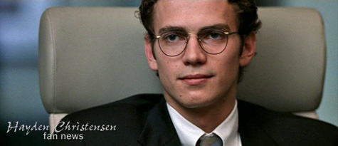 Hayden Christensen as Stephen Glass in Shattered Glass.